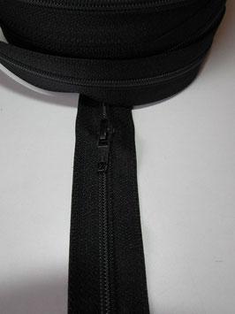 (1,75 € / m)   100 m Stabile Endlose Reißverschluss ca : 6 mm mit 100 Schieber Schwarz