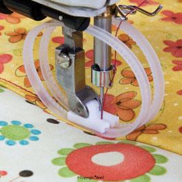 PTFE Fuß mit Ringen für Industrienähmaschinen von TEXI (5004)