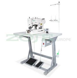 ZOJE ZJ781-BD SET Wäscheknopflochmaschine mit Induktionsmotor von Zoje - komplette Nähmaschine