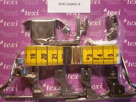 (Stück 5,00 €)  8 Set der notwendigsten Nähfüße & Zubehör für Industrienähmaschinen von Texi