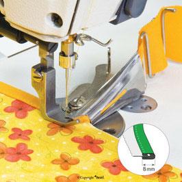 Einfasser, doppelseitig faltend 30/8 mm von Texi für Industrienähmaschinen (6001)