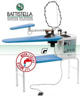 BATTISTELLA VULCANO Bügeltisch mit Dampferzeuger und STEAM MASTER-Bügeleisen