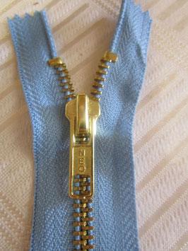 1 Stück Jeanshosen Reißverschlüße 8 cm von NEO Farbe : Hellblau
