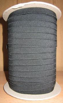 (0,80 €/Meter)  10 mm Breit Gummiband schwarz 6 Meter