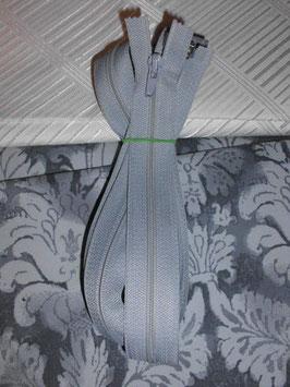 Teilbaren Reißverschluß ca : 185 cm Farbe Grau