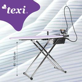 TEXI SMART S+B Bügeltisch mit automatischem Dampferzeuger und Bügeleisen