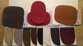 Patches Veloursleder zum Aufbügeln & Aufnähen B.10/L15cm 11 Farben Marke Pronty