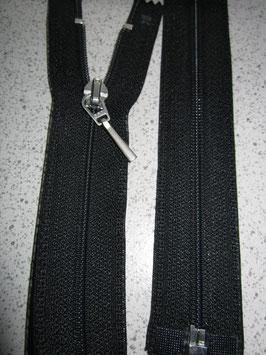 Teilbaren Reißverschluß von Opti 82 cm Farbe : Schwarz