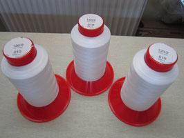 (0,11€/100m) 3 x 5000 m Pekirgarne für Overlock & Blindstich 120/ 2 Weiß