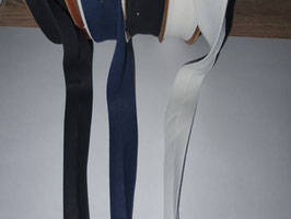 25 m Schrägband Baumwolle 20 mm gefalzt Einfassband Farbauswahl Made Turkey NEU  (0,48€/m)