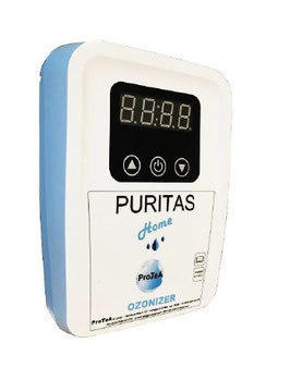 OZONIZZATORE SANIFICATORE per acqua per uso domestico PURITAS HOME