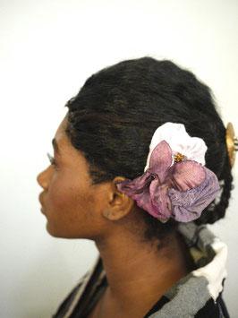 Broche/Pince à Cheveux Fleur Lilas