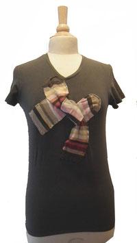 T-shirt à noeux chassettes