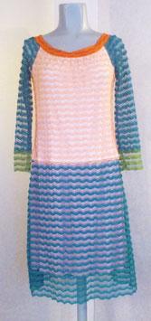 """Robe bicolor """"vague"""""""