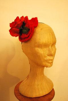 Bibi fleur rouge