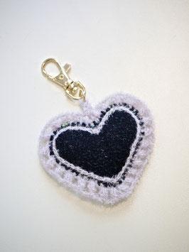 Porte clés coeur et escarpin