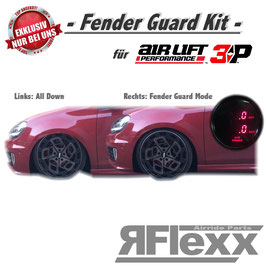 RFlexx Fender Guard Kit für Airlift 3P Steuerungen (für eine Achse)