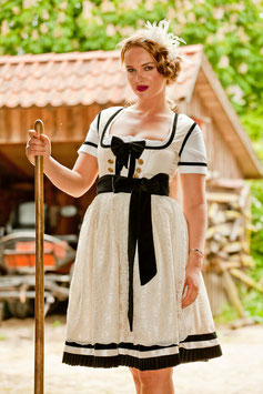 Dirndl COCO in Creme