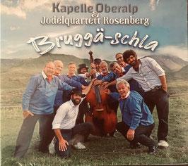 NEU! CD Bruggä-schla Kapelle Oberalp & Jodelquartett Rosenberg