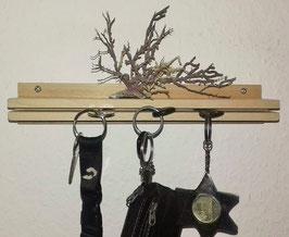 Schlüsselbrett, Holz natur, handmade.