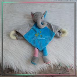 """Schnuffeltuch - Elefant """"NAME oder Wunschtext"""""""