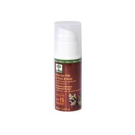 Protection solaire UVA-UVB SPF15