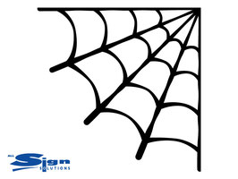 Corner Spider Web [set of 8] (extra small)