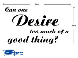 Can one desire too much of a good thing? (small)
