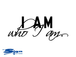I am who I am (small)