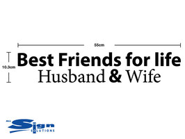 Best Friends for Life Husband & Wife (small)