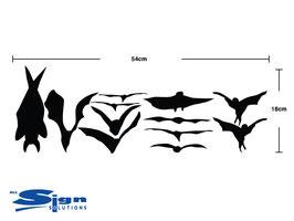 Bats [set of 12]