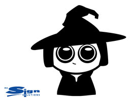 Cute Witch (large)