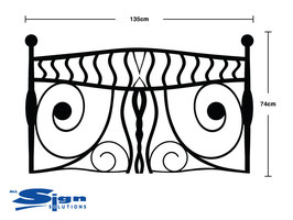 Tribal Headboard - Large (Double)