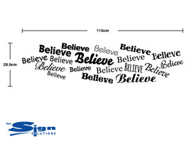 Believe Word Cloud (large)
