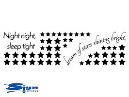 Night night sleep tight dream of stars shining bright (small)