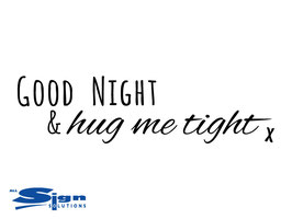 Good Night & hug me tight x (small)