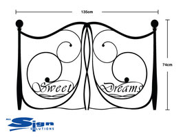 Sweet Dreams Headboard - Large (Double)