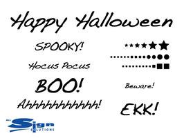 Happy Halloween Word Pack 2015