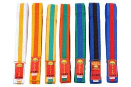 Karate Gürtel zweifarbig