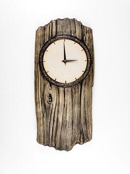 Uhr Holzoptik