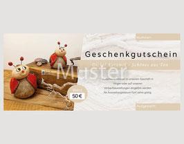 Geschenkgutschein - 50€