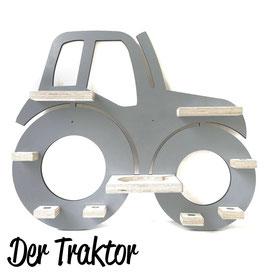 Der Traktor ohne Anhänger