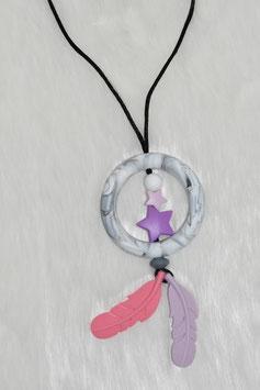 Stillkettentraumfänger (Violett-Pink)