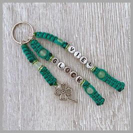Viel Glück grün/silber (Nr. 003)