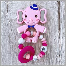 Beissring Nr. 4 (Elefant pink)