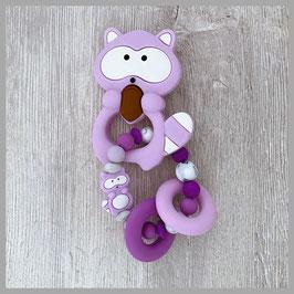 Beissring Nr. 16 (Waschbär violett)