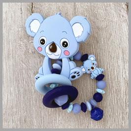 Beissring Nr. 8 (Koala blau)