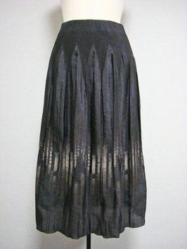スダレボカシ柄スカート  商品番号IS-6387-PE