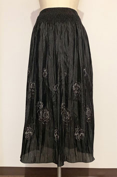 商品番号IS-5631  バラ柄パネルスカート