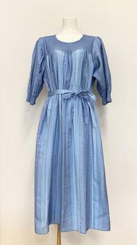 【新着】商品番号IS-9858-7W リラクシーワンピ(ブルー)